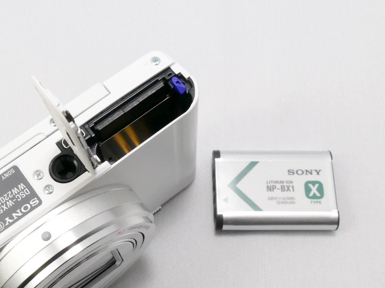 WX500のバッテリー