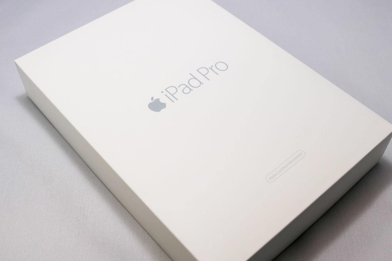 iPad Proの整備済製品パッケース
