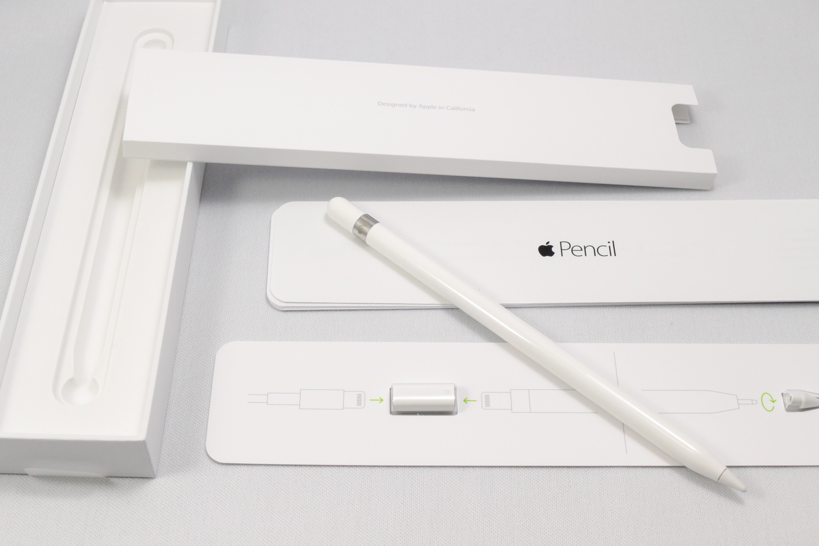 Apple Pencilと付属品