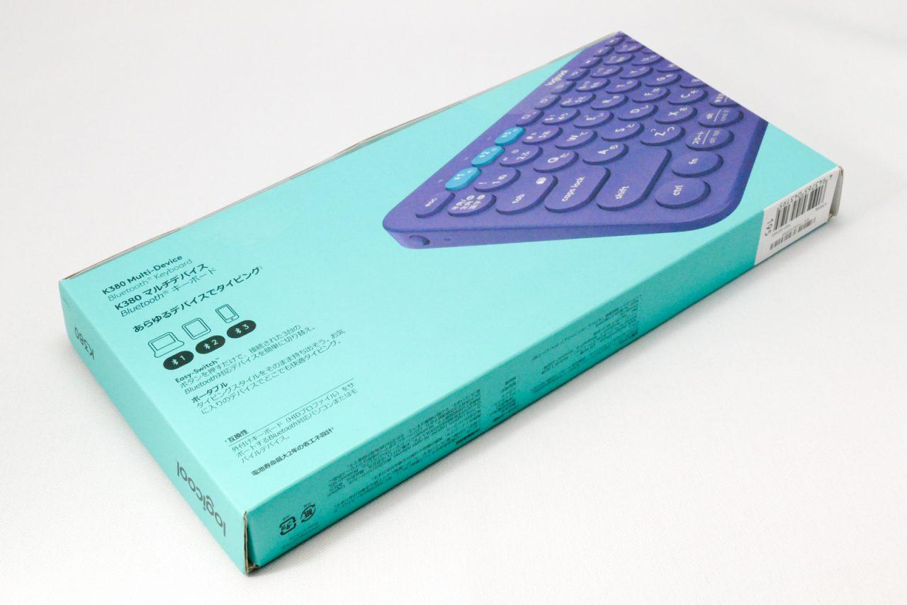 Logicool ロジクール K380BL Bluetooth ワイヤレス キーボード