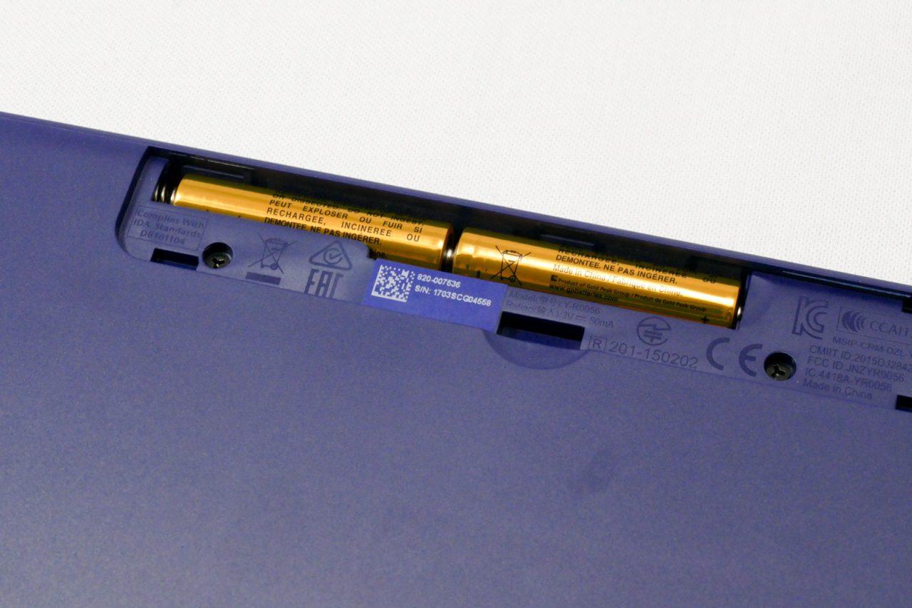 K380の電池
