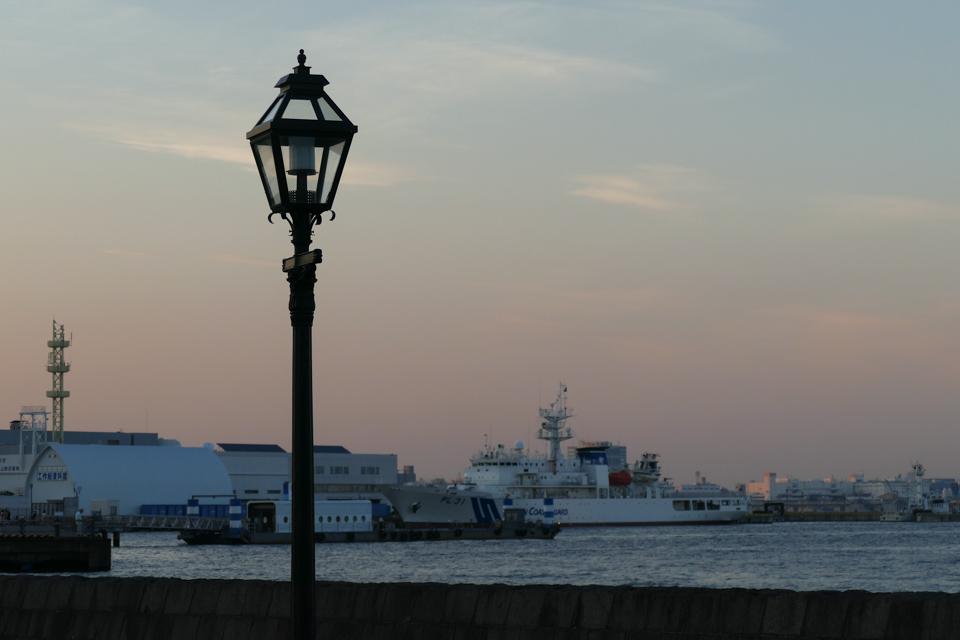 象の鼻の街灯