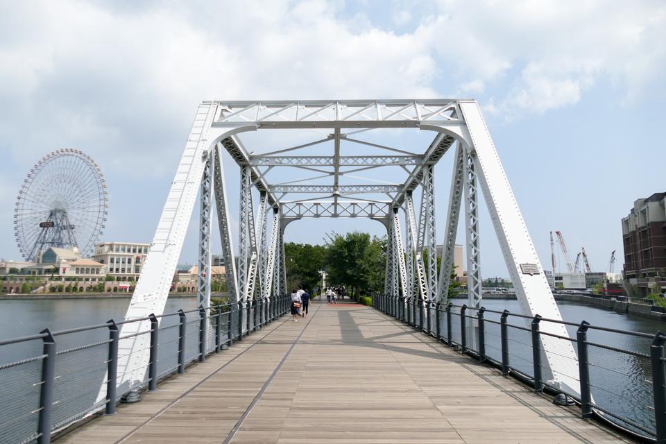 汽車道の港一号橋梁