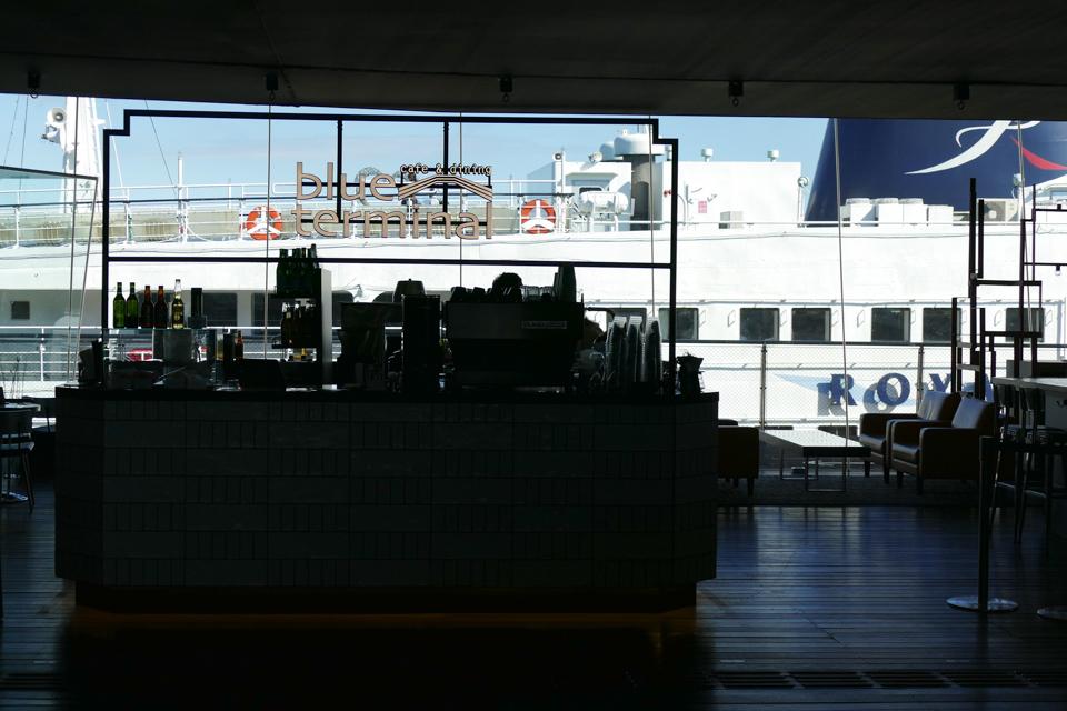 大桟橋のレストラン
