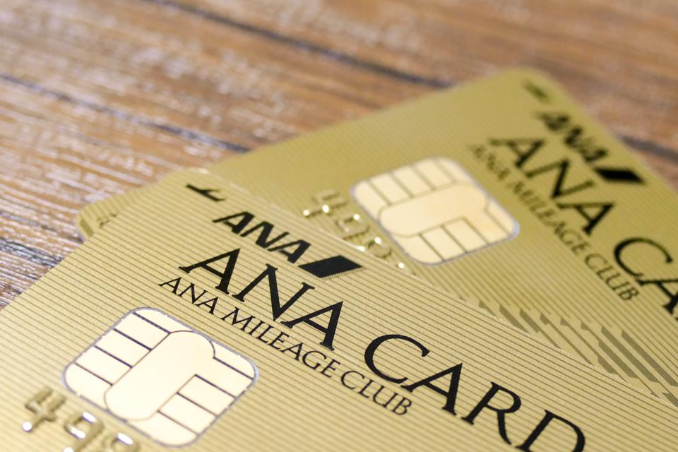 ANA VISAワイドゴールド(家族カード)