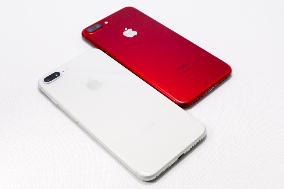 iPhone7 PlusとiPhone8 Plus