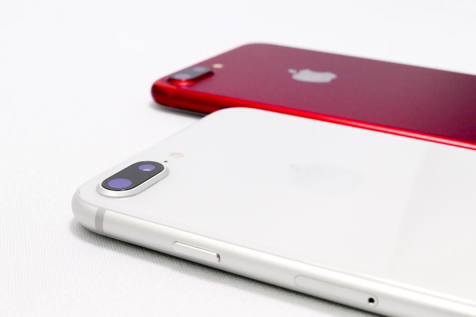 iPhone8 PlusとiPhone7 Plus
