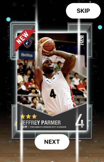 J.パーマー選手のカード