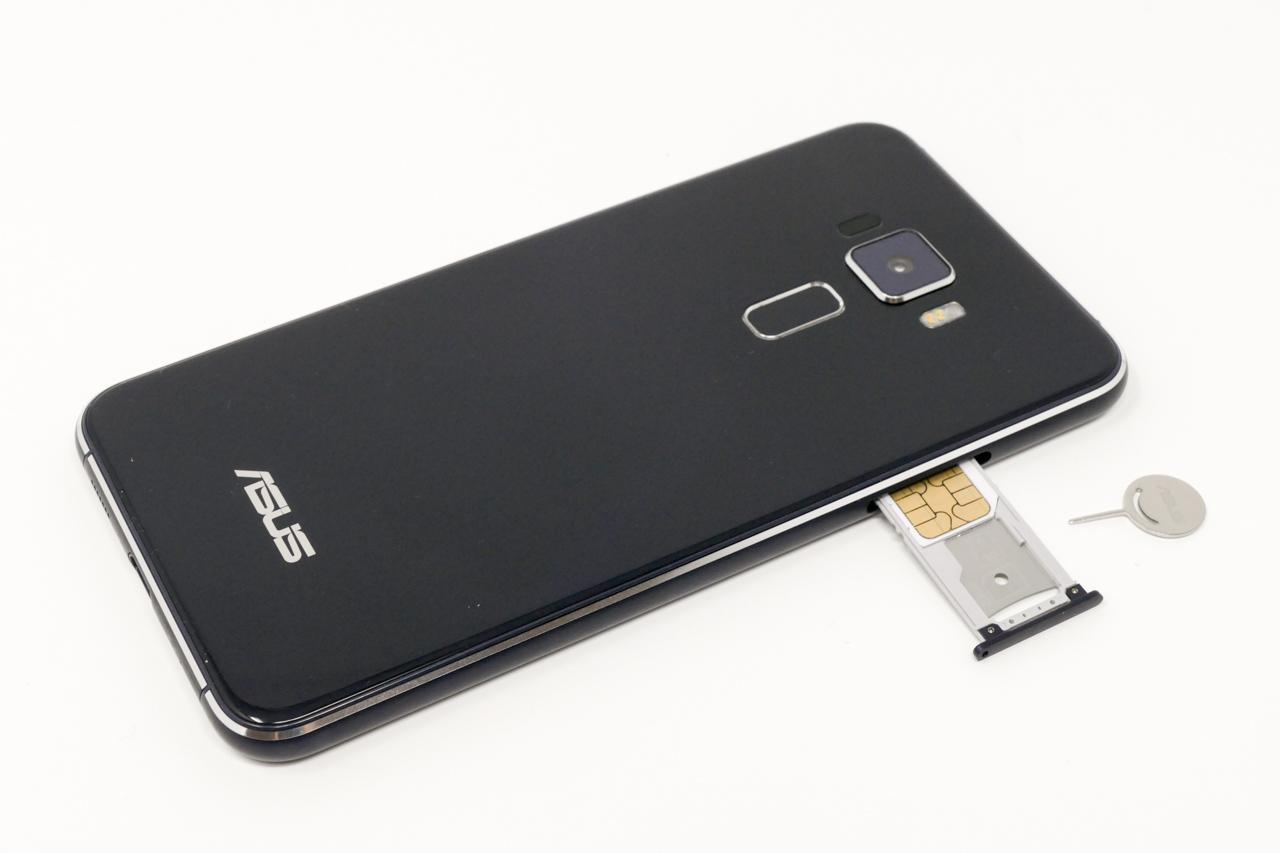 BIGLOBEモバイルのSIMカードを挿入
