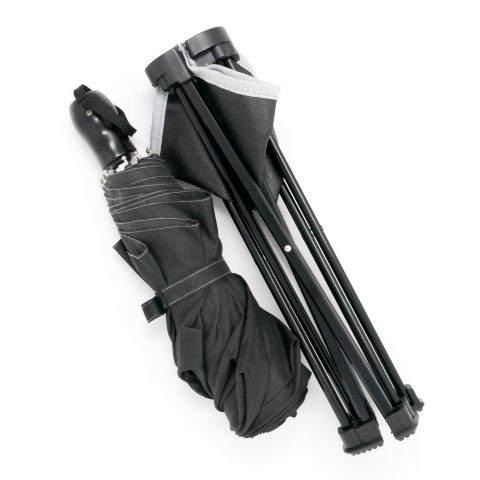 折りたたみチェアと折りたたみ傘