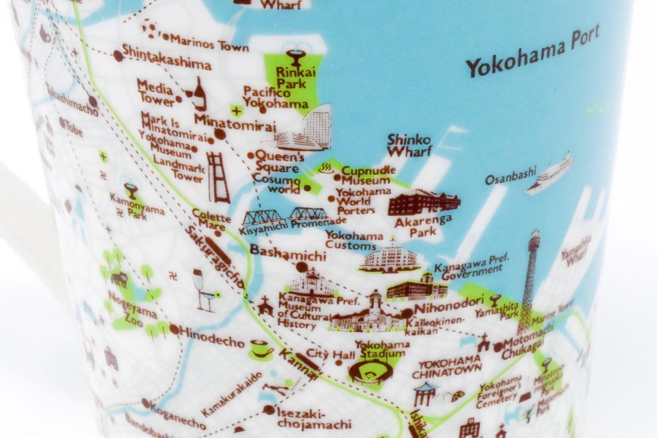 マップマグの横浜地図