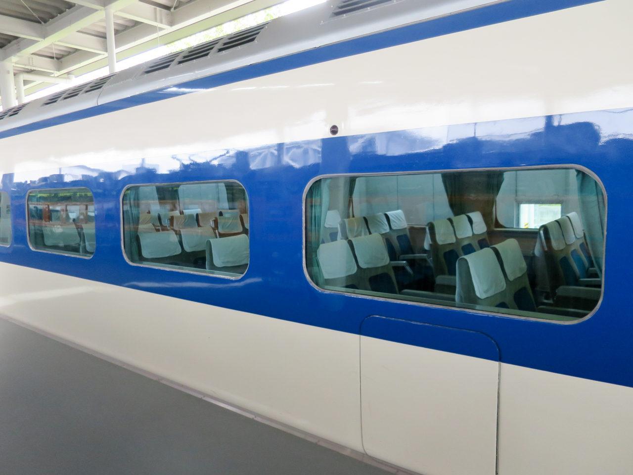京都鉄道博物館の新幹線0系
