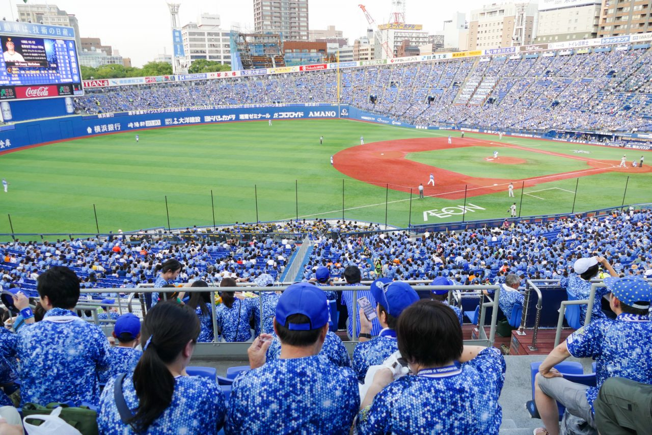 横浜スターナイト2018(横浜スタジアム)