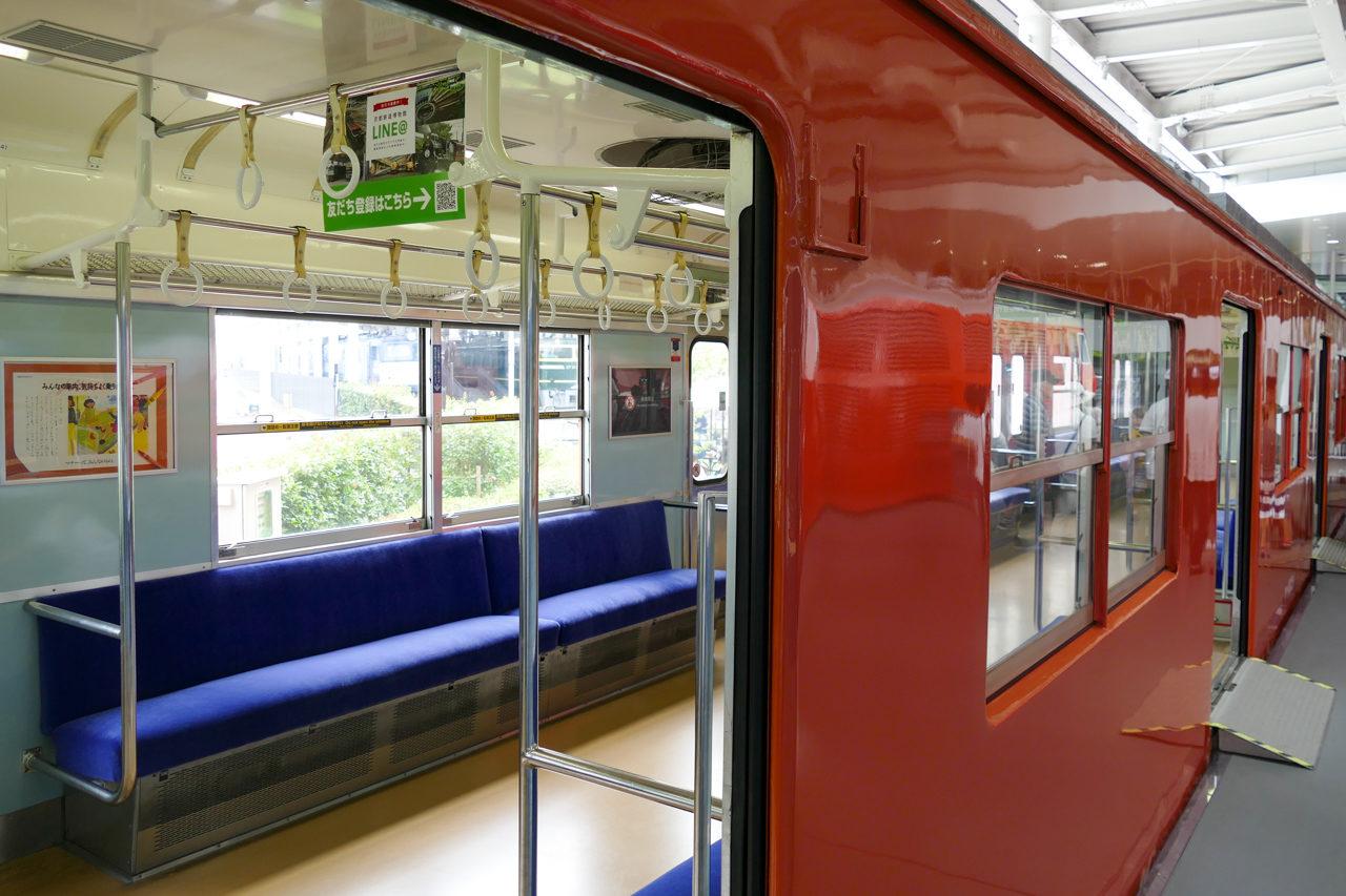 京都鉄道博物館の大阪環状線103系