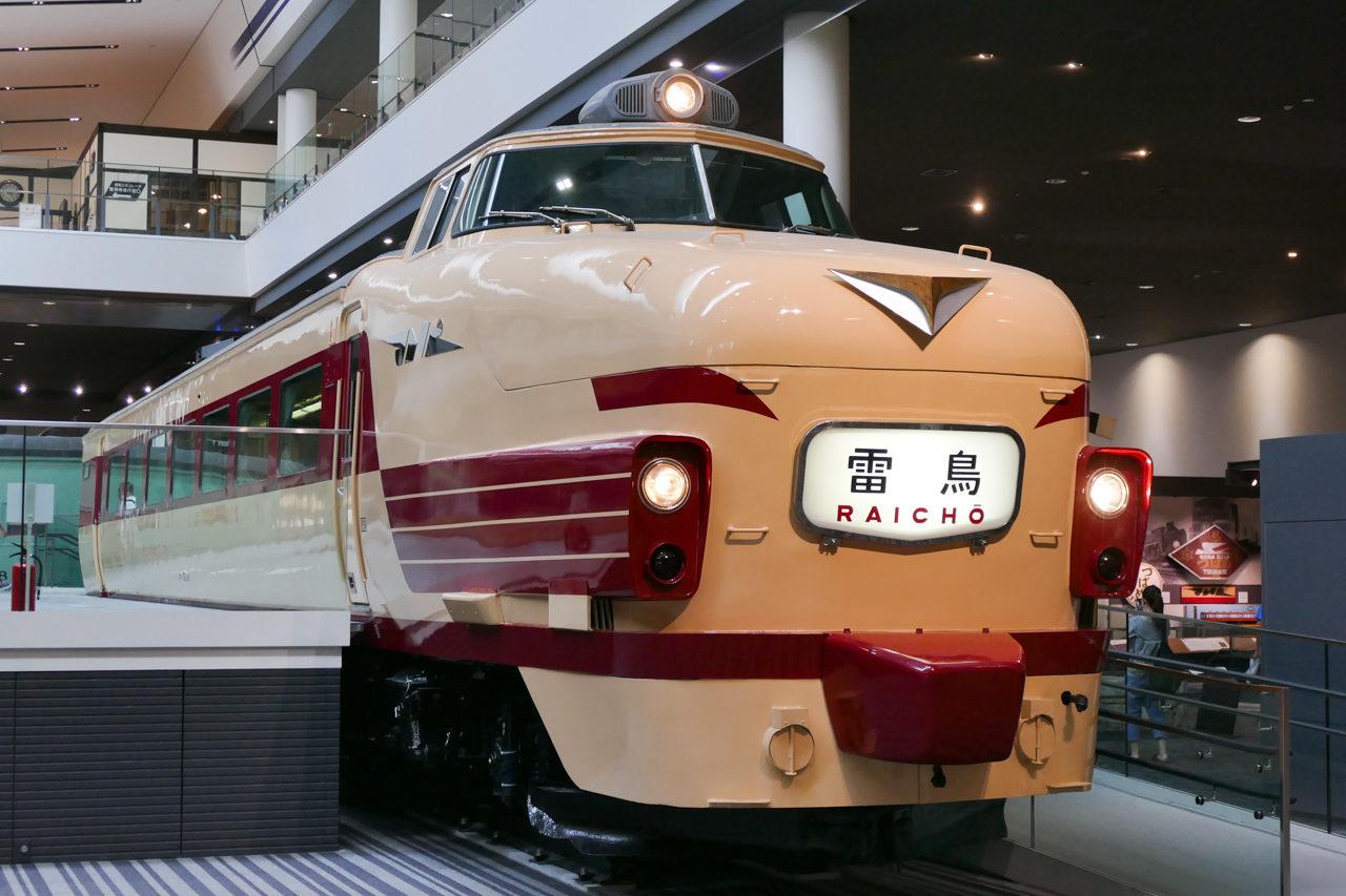 京都鉄道博物館のクハ489形