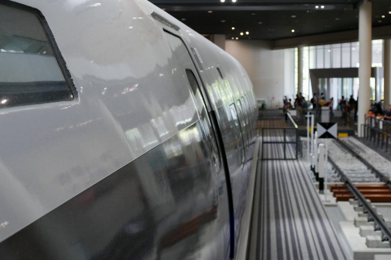 京都鉄道博物館の新幹線500系