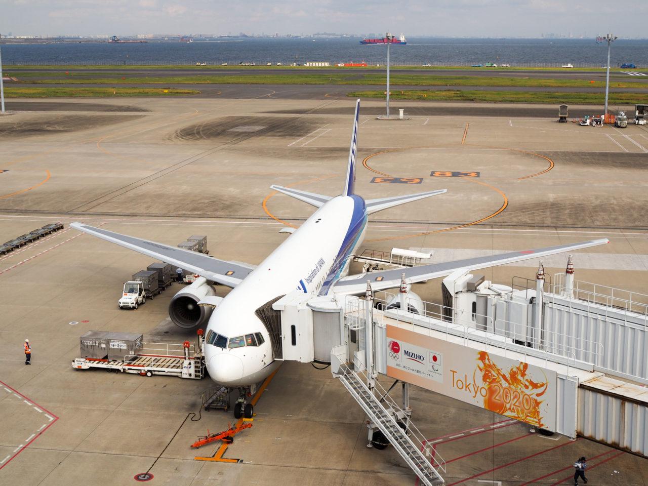羽田空港のANA