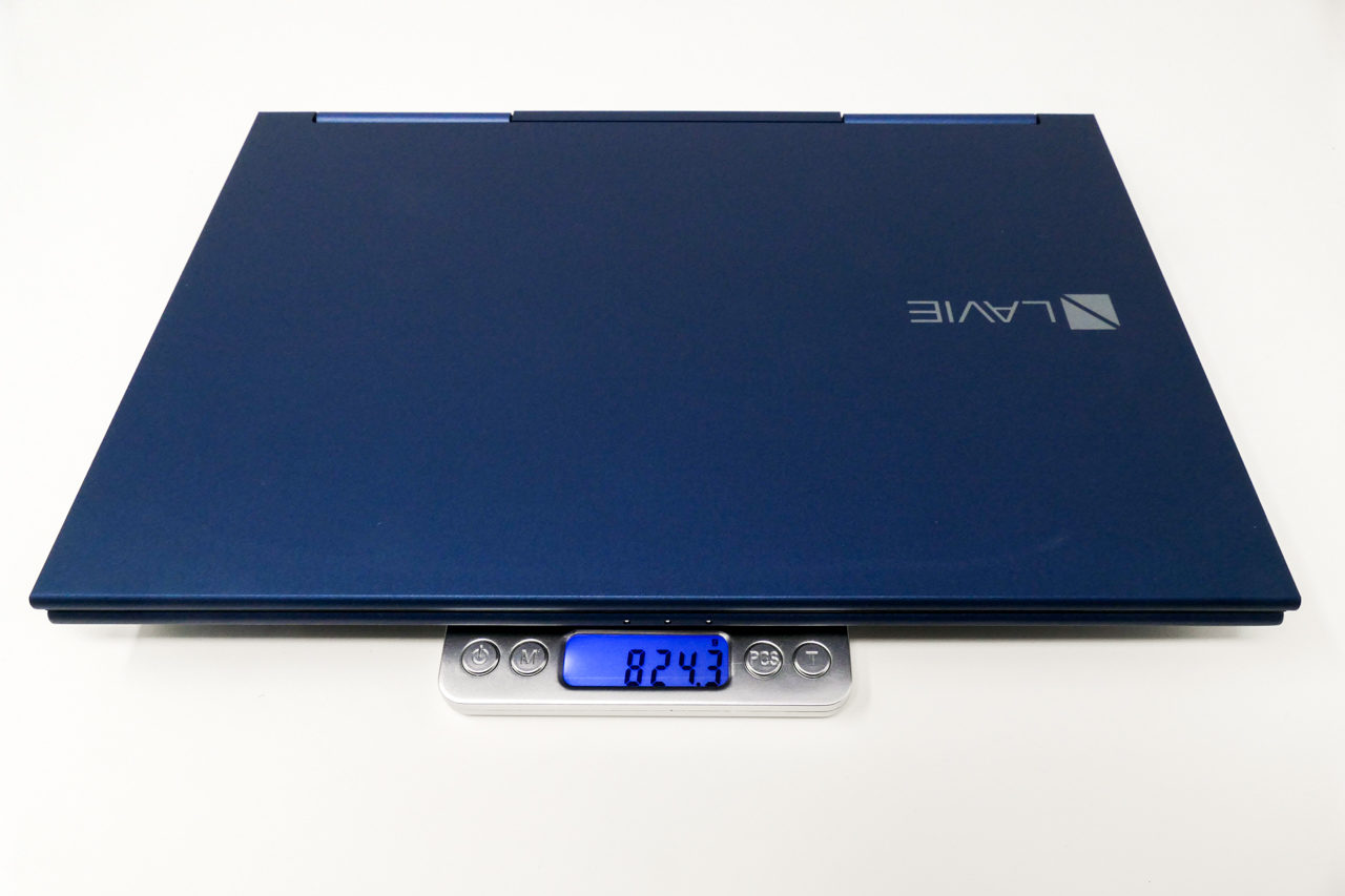 lavie hybird zeroの重量(計量)